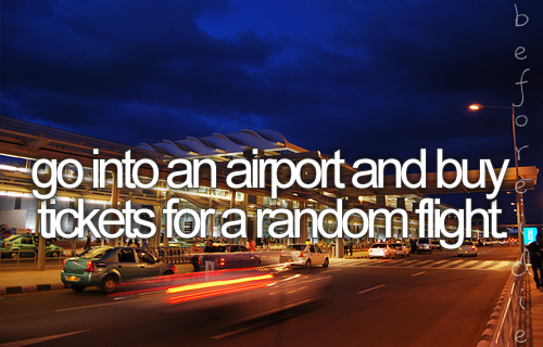 Bucket List New